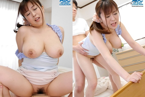 [OKSN-205] – Mom's Big Tits Are Mine! Nana Aoyama (English subbed)